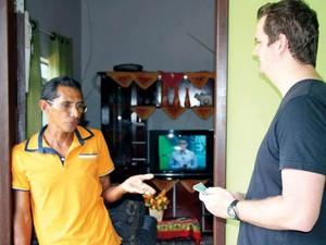 Francisco recebeu R$ 2 mil do empresário após atitude honesta (Foto: Fernando Pereira/ Arquivo Pessoal)