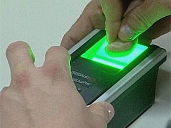 Voto biométrico (Foto: Reprodução/TV Rondônia)