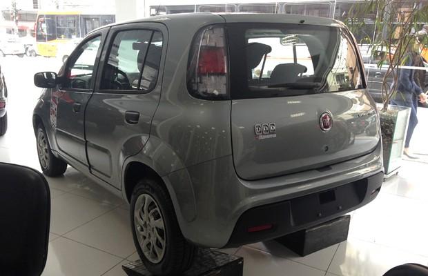Novo Fiat Uno (Foto: Divulgação)