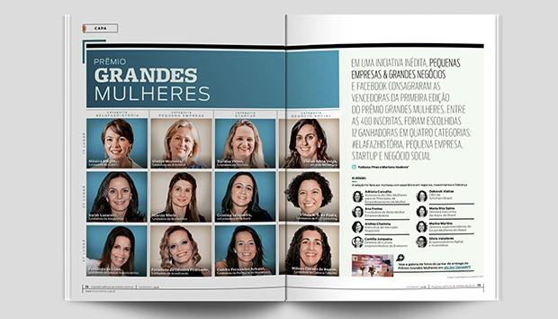 Matéria mostra as principais lições das premiadas do Grandes Mulheres (Foto: PEGN)