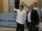 Presidente Dilma entrega casas populares em Castanhal, PA