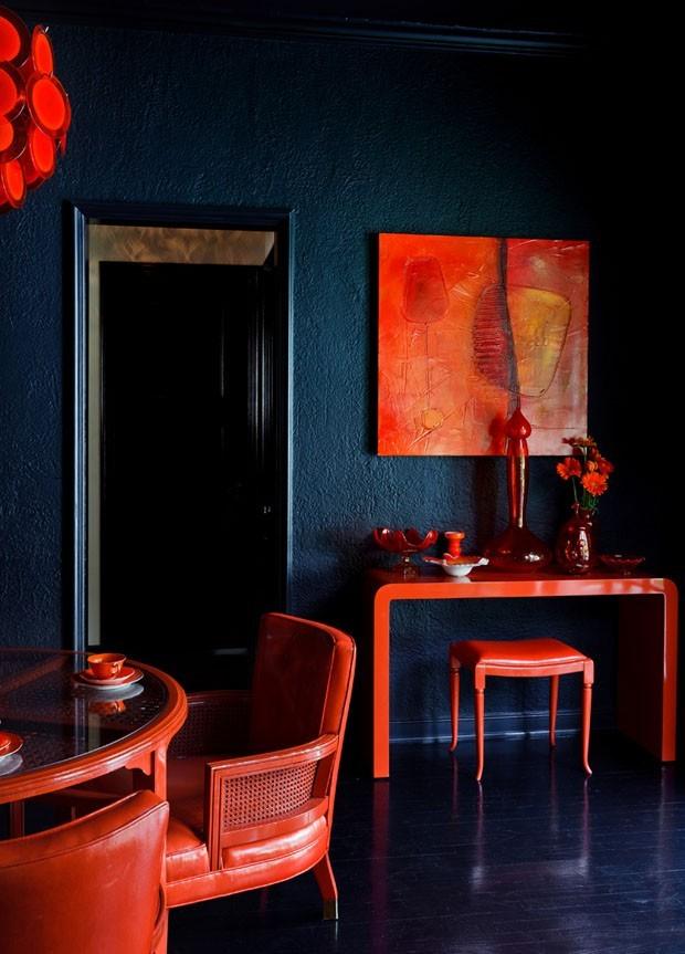 Top 10 salas de jantar vermelhas (Foto: divulgação)