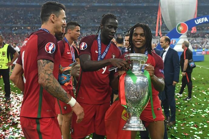 Renato Sanches Portugal Eurocopa (Foto: AFP)