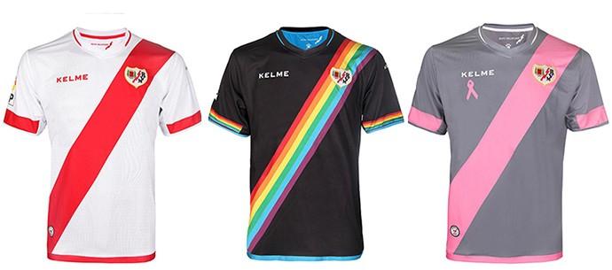 Camisas espanhol Rayo Vallecano