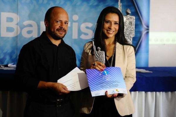 Roberta Salinet ganhou prêmio de segundo lugar (Foto: Emilio Pedroso)