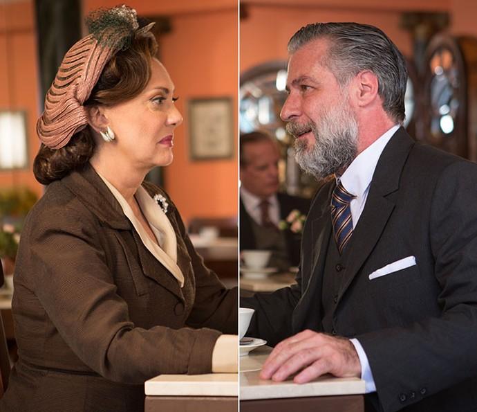 Anastácia fica surpresa com pedido de casamento de Ernani (Foto: Fabiano Battaglin/Gshow)