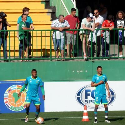 Tiaguinho Chapecoense  (Foto: Laion Espíndula )