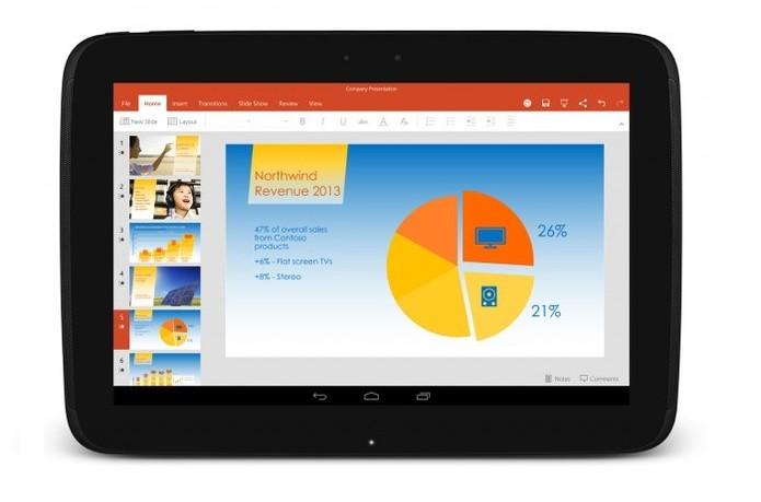 PowerPoint é um dos apps que fazem parte da suíte (Foto: Reprodução/Microsoft)