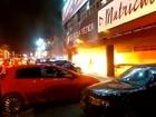 Carrinho de batata explode e põe fogo em marquise de faculdade do DF