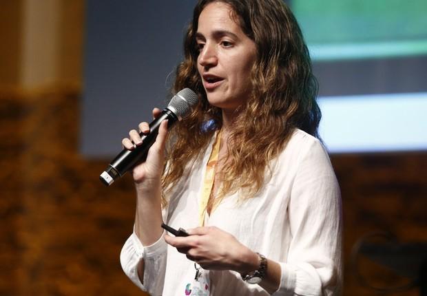 Kerstin Forsberg no Festival de Cultura Empreendedora (Foto: Ricardo Cardoso)