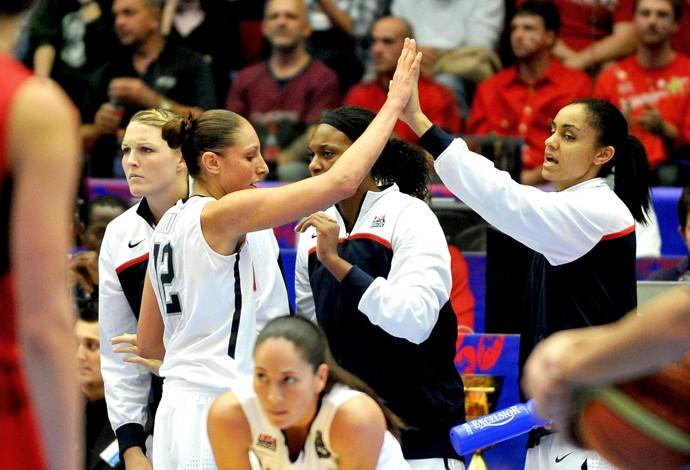 basquete estados unidos final mundial  (Foto: agência AFP)