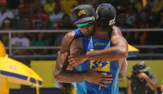 Guto Pedro conquistam etapa de Aracaju Circuito Brasileiro de Vôlei de Praia (Foto: Shana Reis/MPIX/CBV)