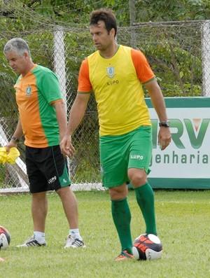 Renato Justi; Bruno Furlan; Rubens; América-MG (Foto: Carlos Cruz/ America-MG)