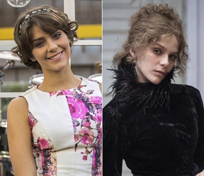 Isabella Santoni fez o maior sucesso como a Karina de 'Malhação' na temporada de 2014. Em 2016, a atriz faz o papel de Isabel na fase jovem em 'Ligações Perigosas' (Foto: Paulo Belote / Pedro Curi / TV Globo)