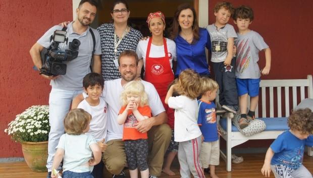 Janine, que deixou o emprego para abrir um bistrô para crianças, vai contar sua história no Globo Repórter (Foto: RBS TV/Divulgação)