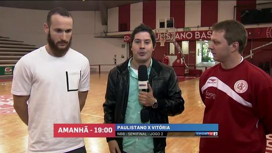 """Huertas mantém fé em seguir na NBA: """"Continuar treinando e esperar"""""""