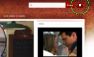 Salve Jorge  - página inical (Foto: Salve Jorge/TV Globo)