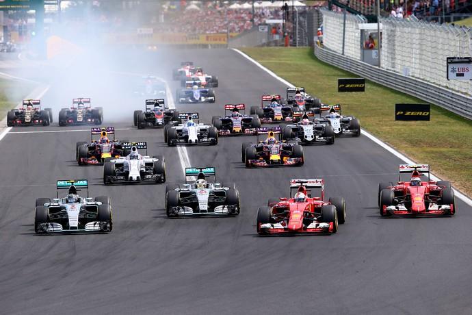 Calcanhar de Aquiles da Mercedes, largada terá mudanças na Bélgica