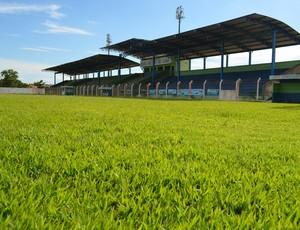 Estádio Gentil Valério de Lima, em Ariquemes, RO (Foto: Franciele do Vale)