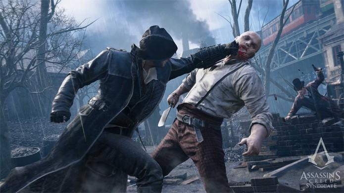 O assassino Jacob cuidando dos seus problemas em Assassins Creed: Syndicate (Foto: Divulgação/Ubisoft)
