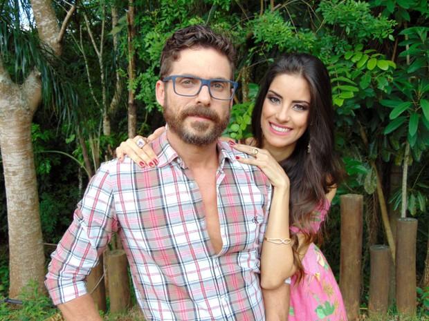 "Sertanejo Hudson comemora segunda gravidez da mulher, Thayra Machado, e filho Davi: Menina vai se chamar Helena"", diz músico (Foto: Manú Celles)"