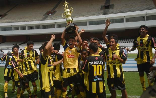 Castanhal é campeão sub-20 (Foto: Antonio Cícero / Colaborativo)