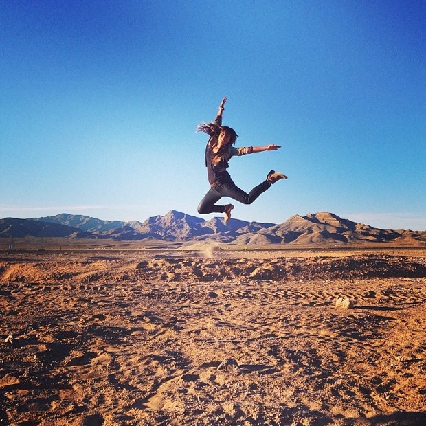 Danielle Suzuki em Las Vegas, nos Estados Unidos (Foto: Instagram/ Reprodução)