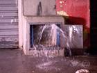 Suspeita de roubo de hidrômetro causa desperdício de água em BH