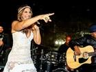 Ivete Sangalo canta em evento pré-olímpico no Cristo Redentor