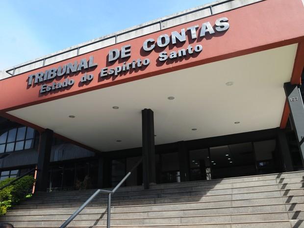 Sede do Tribunal de Contas do Espírito Santo (Foto: Vitor Jubini/ Arquivo A Gazeta)