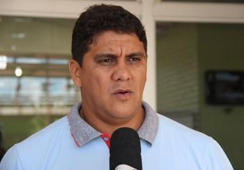Elison Azevedo, diretor de futebol do Atlético-AC (Foto: João Paulo Maia)
