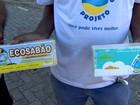Aposentados coletam óleo em bairros da Serra e fazem sabão