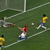 Gol contra não abala Marcelo: 'Tranquilo' (Paulo Whitaker/Reuters)
