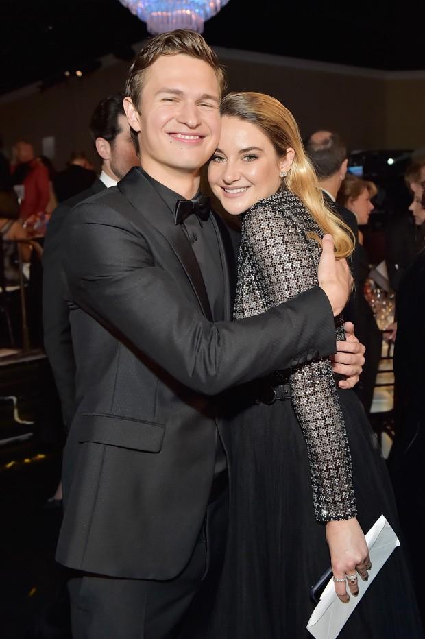 Ansel Elgort e Shailene Woodley (Foto: Getty Images)