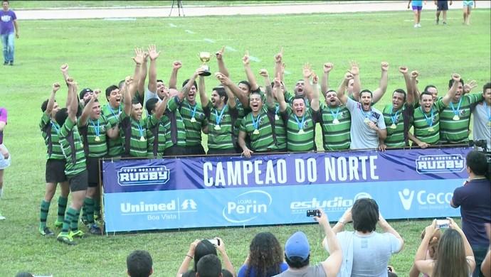 grua, rugbi, copa norte, manaus, amazonas (Foto: Divulgação/Grua)