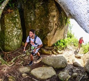 Revezamento Volta à Ilha equipe Eu Atlea (Foto: Foco Radical)