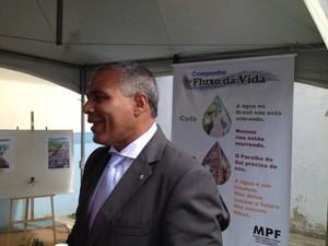 O procurador da República Eduardo Santos de Oliveira (Foto: Letícia Bucker/G1)