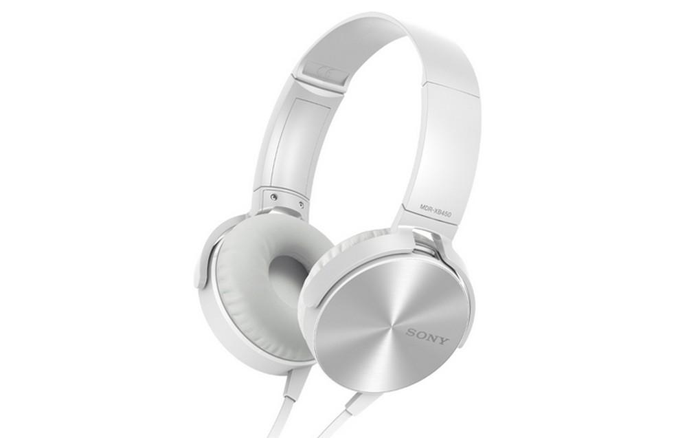 Fone de ouvido para graves Sony Extra Bass MDR-XB450AP  (Foto: Divulgação/Sony)