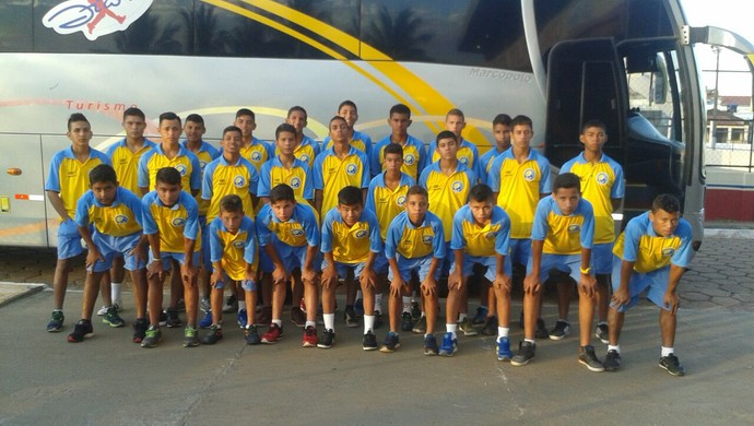 Jogadores embarcaram rumo à Salvador na segunda-feira (27) (Foto: Joaci Moura/arquivo pessoal)