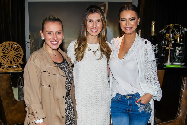 Lethicia Brostein, Constance Zahn e Milena Toscano (Foto: Manuela Scarpa/Brazil News)