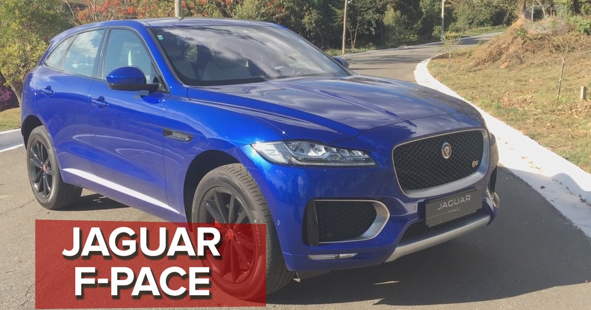 Auto Esporte - Jaguar F-Pace  primeiras impressões 75195dd2d0