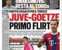 Juventus parte feroz para cima de Mario Götze, diz imprensa italiana