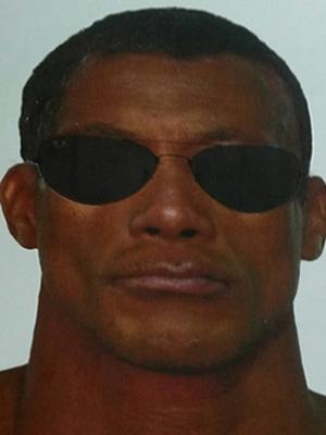 Retrato falado do suspeito  foi feito através de depoimento das vítimas (Foto: Divulgação/Polícia Civil)