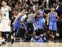 Com final polêmico, Thunder bate os Spurs em San Antonio e empata série
