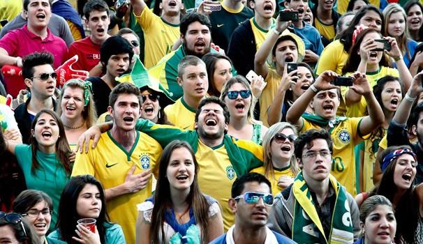 FIFA Fan Fest Curitiba (Foto: Euricles Macedo/ RPC TV)
