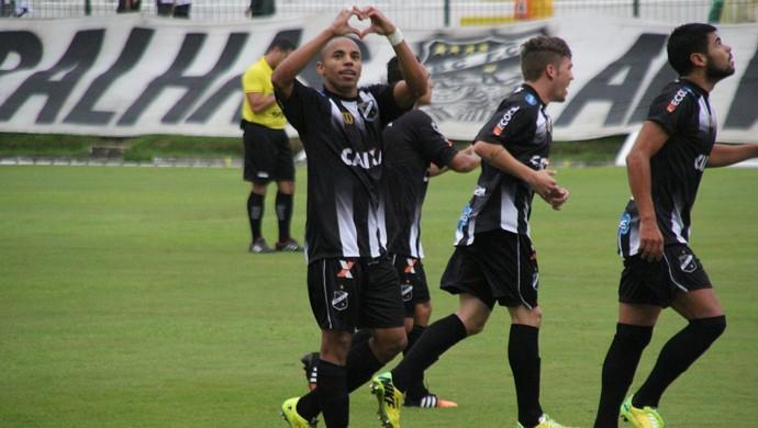 Reginaldo - lateral do ABC (Foto: Fabiano de Oliveira)