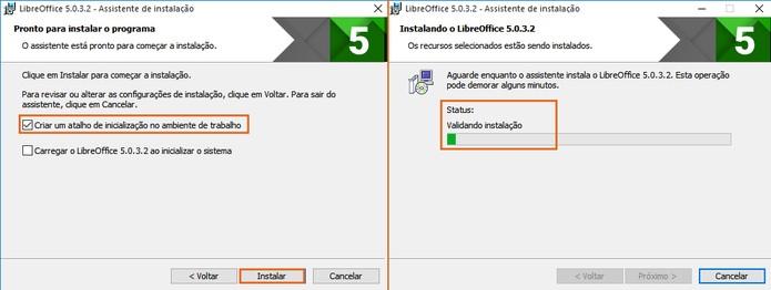 Conclua o processo de instalação do LibreOffice no computador (Foto: Reprodução/Barbara Mannara)