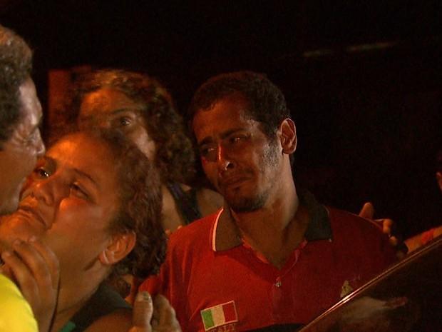 Wagner Carvalho também foi atropelado ao tentar proteger a filha (Foto: Ronaldo Gomes/EPTV)