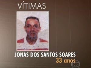 Jonas dos Santos Soares, 33 anos, morreu em Osasco (Foto: TV Globo/Reprodução)