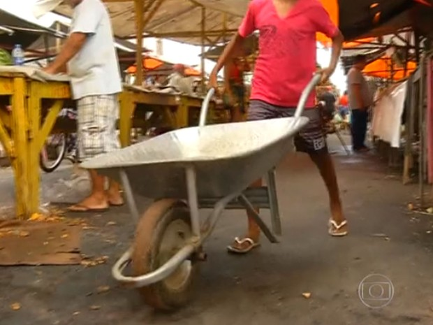 Trabalho infantil (Foto: TV Globo/Reprodução)